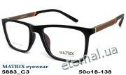 Оправа MATRIX 5883 C3 black-brown