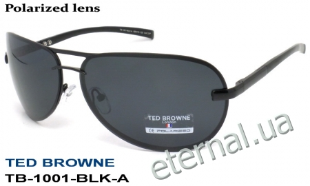 TED BROWNE очки TB-1001-BLK-A