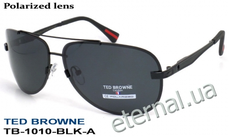 TED BROWNE очки TB-1010 BLK-A