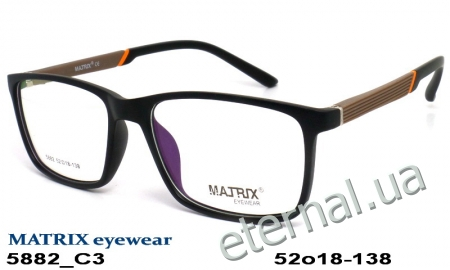 Оправа MATRIX 5882 C3 black-brown