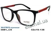 Оправа MATRIX 5881 C6 black-red