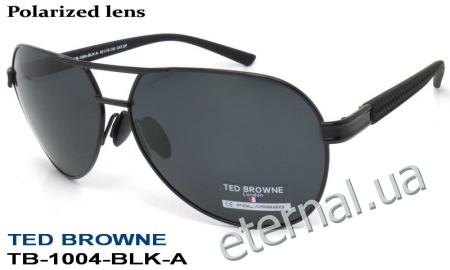 TED BROWNE очки TB-1004 A-BLK-A