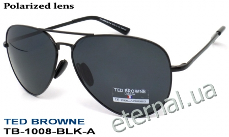 TED BROWNE очки TB-1008-BLK-A