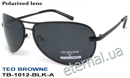 TED BROWNE очки TB-1012 A-BLK-A