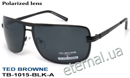 TED BROWNE очки TB-1015 A-BLK-A