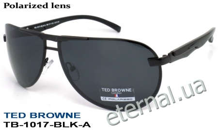 TED BROWNE очки TB-1017 A-BLK-A