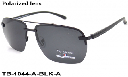 TED BROWNE очки TB-1044 A-BLK-A